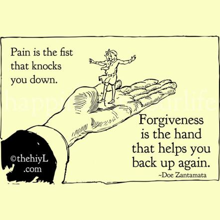 Forgiveness, forgive comic, comic on forgiveness, comic on pain, picture forgive, learn to forgive, forgive and forget